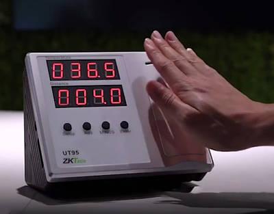 Настольный бесконтактный измеритель температуры ZK-UT95