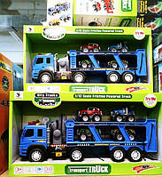 Большой Автовоз+4 машинки со спецсигналом 1188-41, фото 1