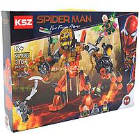 Конструктор KSZ Super Heroes «Бой с расплавленным человеком», 310 деталей (1002)