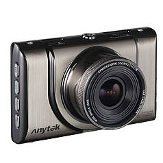 "Видеорегистратор Anytek A100+ экран 3"" угол обзора 170 град G-sensor WDR циклическая съемка FullHD 200 мАч"