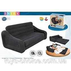 Надувной Велюр диван Intex 66552 РS