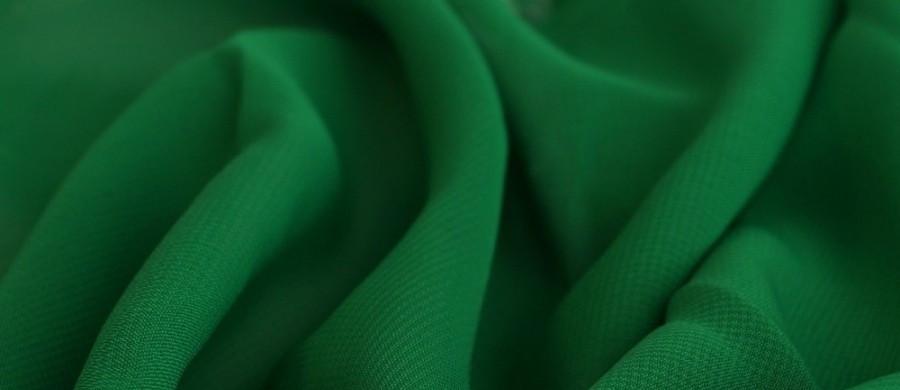 Тканина шифон купити оптом і в роздіб (Ткань шифон купить оптом и в розницу) Зелений TSH-0006
