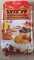 Крупа пшеничная булгур с копчеными томатами, тамариндом, овощами 700г ОЛИМП (1/10)