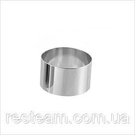 Форма кондитерская Lacor круглая (d-8, h-6 см)