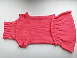 Розовый свитер для таксы или маленькой собаки, фото 10