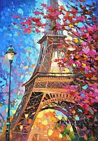 Картины по номерам Краски Парижа, 40x50 см, Идейка (КНО2129)