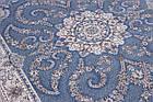 Коврик восточная классика ESFEHAN 9720A 1,5Х2,3 ГОЛУБОЙ прямоугольник, фото 3