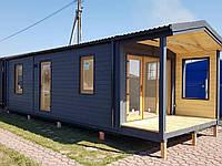Дача, дерев'яний модульний житловий будинок, вагончик, дом от производителя AUTOXATA