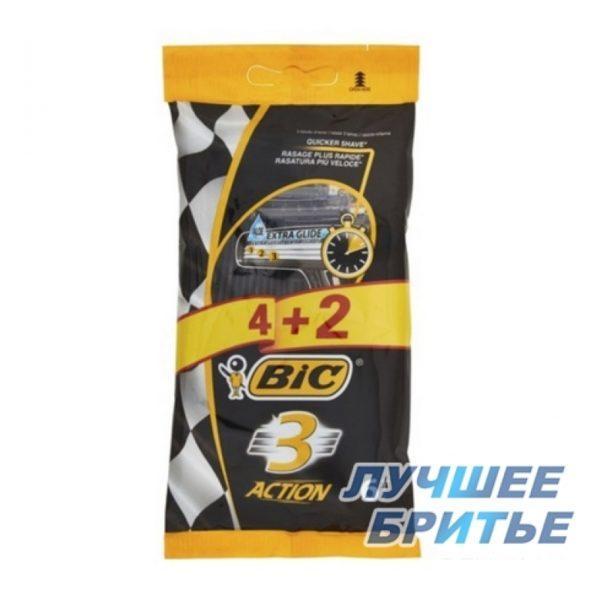 Набір верстатів Bic 3 Action 4 шт+2 шт в ПОДАРУНОК