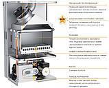 Котел газовый Ferroli Divatech D F24 NEW (2теплобм.) + труба, фото 2