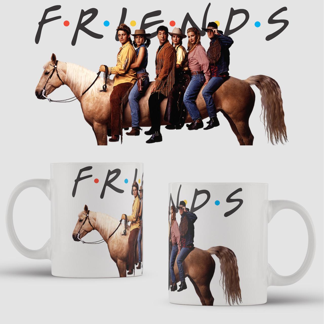 Чашка з принтом Friends v2. Серіал Друзі