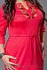 Платье женское, р-ры 46-48,48-50,50-52,52-54,54-56,56-58, фото 2