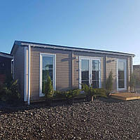 Каркасний, деревяний будинок, дача, житло, модульный дом