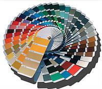 Колеровка краски SkyLine на бесцветной и белой базе по вееру производителя в любой цвет