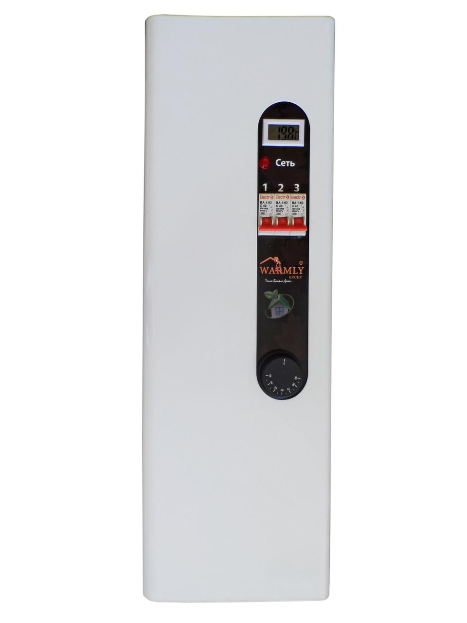 Котел електричний Warmly CLASSIK M 4,5 кВт 220/380 В (з насосом + безшумний реле)