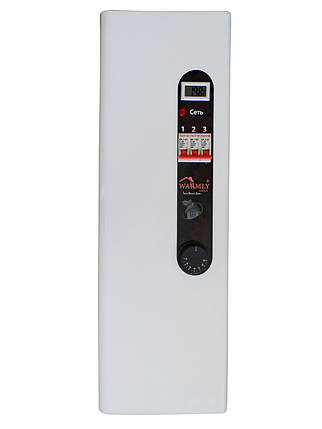 Котел електричний Warmly CLASSIK M 4,5 кВт 220/380 В (з насосом + безшумний реле), фото 2