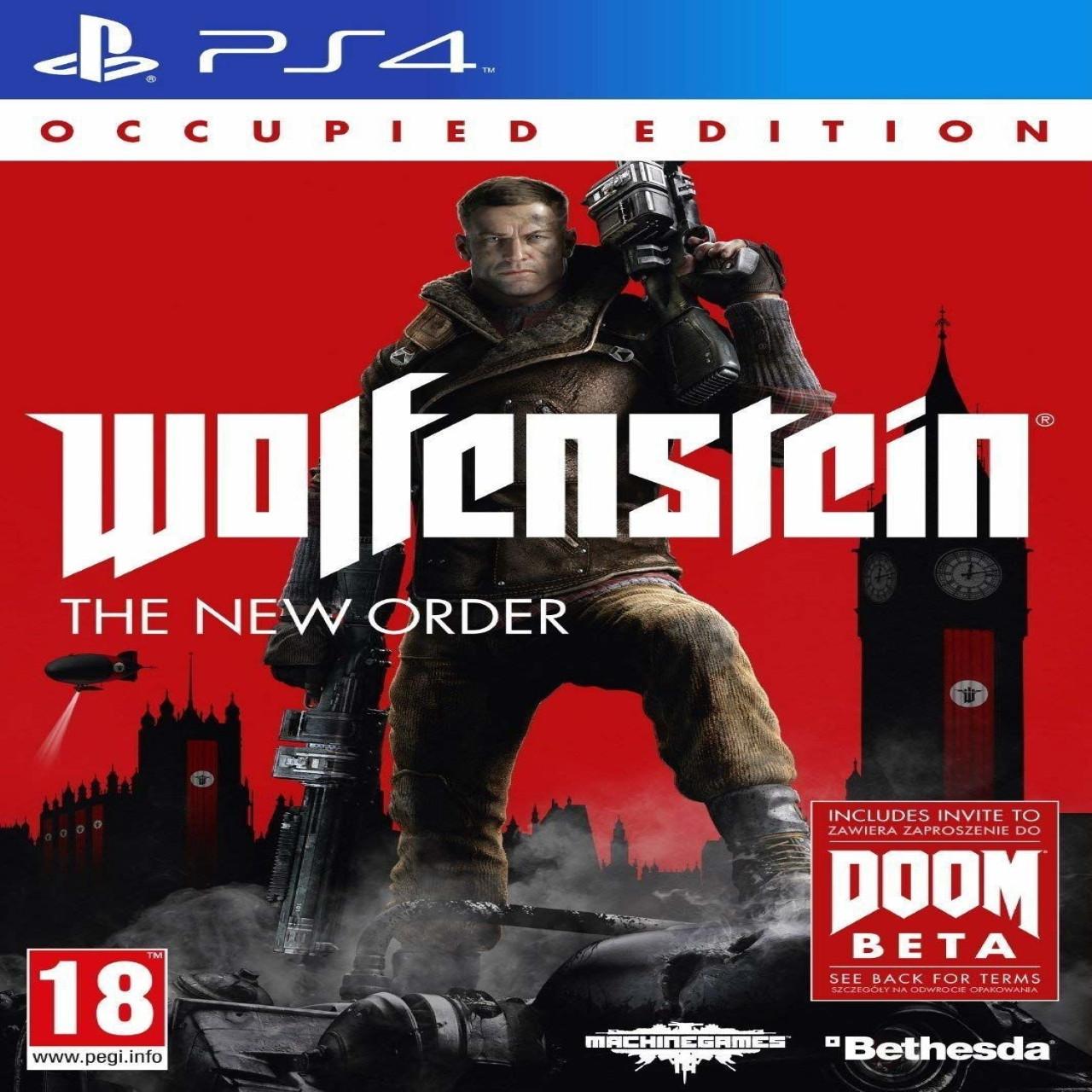 Wolfenstein: The New Order. Occupied Edition (російські субтитри) PS4