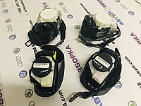 Комплект ремней безопасности передних и задних Skoda Superb