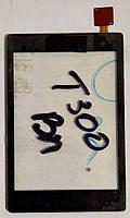 Сенсор (тачскрін) для LG T300 Black