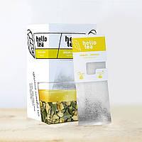 """Чай пакетированный листовой """"Имбирь - лимон"""", 50 г, HELLO TEA"""