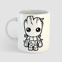 Чашка з принтом Малюк Грут. Вартові Галактики. Marvel, фото 1