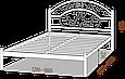 """Кровать """"Скарлет"""" 1,6, фото 4"""