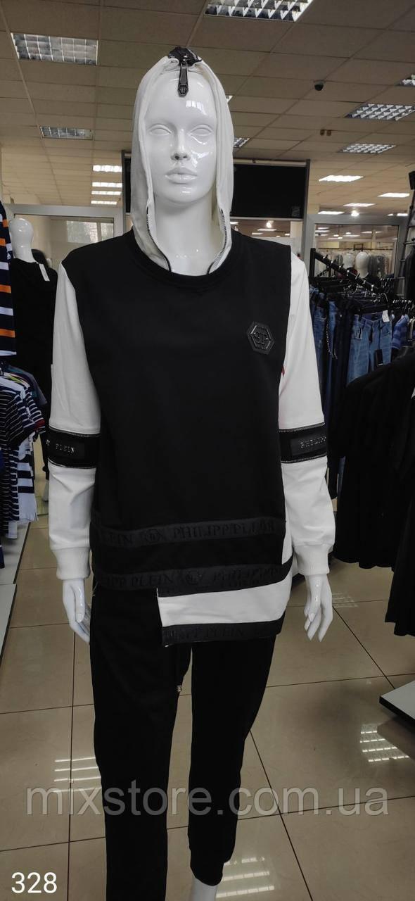 Стильный женский костюм  PHILIPP PLEIN копия класса люкс, XL