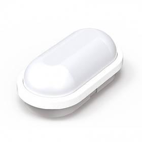 Светодиодный cветильник для ЖКХ AYDOS 15W накладной 4200K овал белый IP65 Код.59742