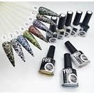 Краска для стемпинга Yo!Nails STAMP №7, 8 мл Платина, фото 2