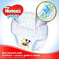 Підгузки-трусики Huggies Pants для хлопчиків 3 (6-11кг), 44шт, фото 8