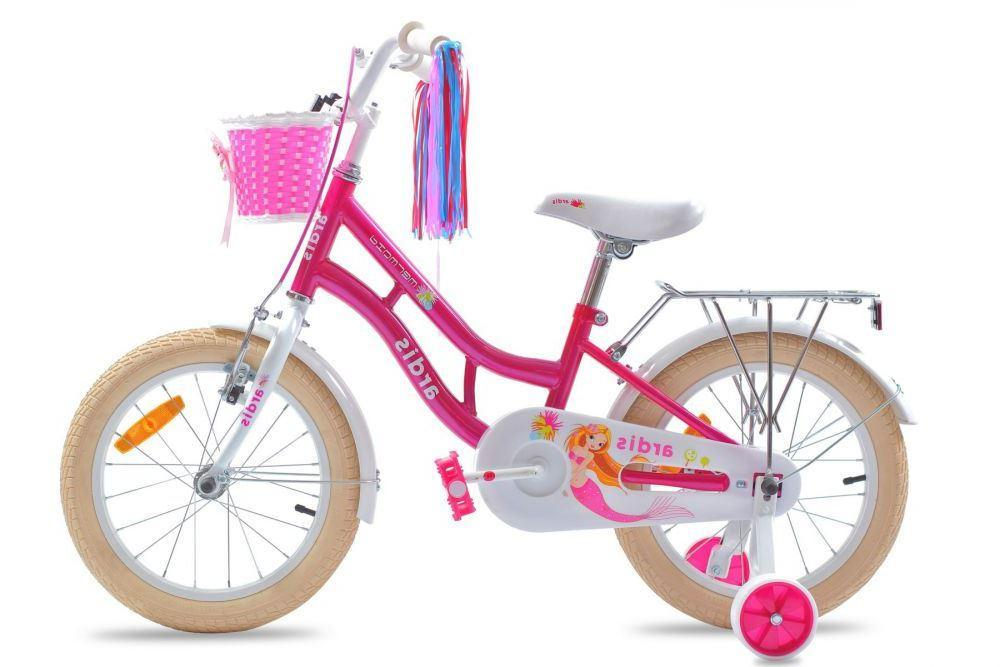 """Дитячий велосипед ARDIS MARMAID BMX 16"""" Рожевий/Білий"""