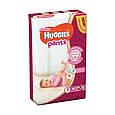 Підгузки-трусики Huggies Pants для дівчаток 3 (6-11кг), 44шт, фото 2