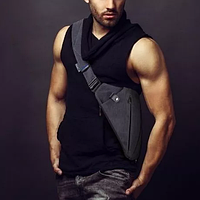 Чоловіча сумка через плече, чоловічий месенджер Cross Body (Крос Боді), сумка чоловіча через плече