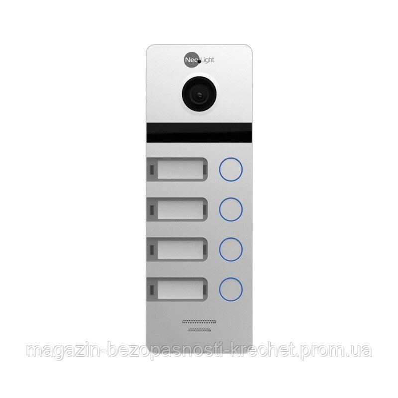 Вызывная панель  NeoLight MEGA/4 HD Silver
