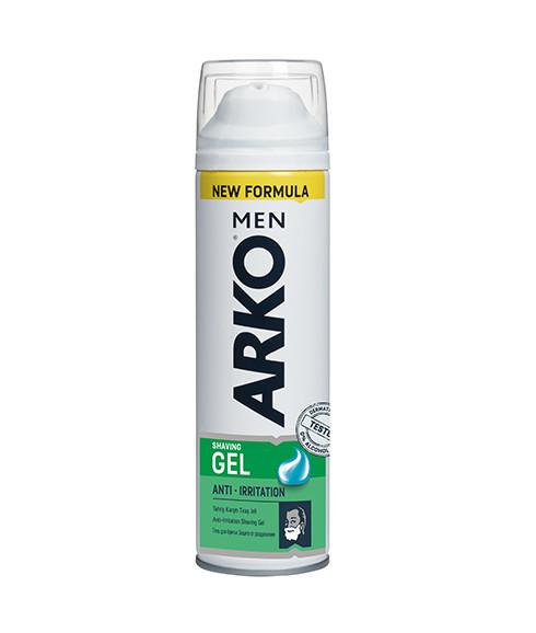 Гель для бритья «Защита от Раздражения» ARKO Men Shaving Gel Anti-Irritation 200 мл