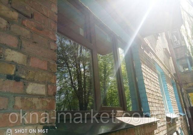 Ламинированные пластиковые окна Киев на ул. Неходы 5