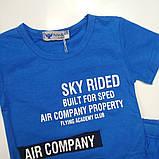 Летний костюм для мальчика Pelin Kids Синий р. 104, 110, 116, фото 2
