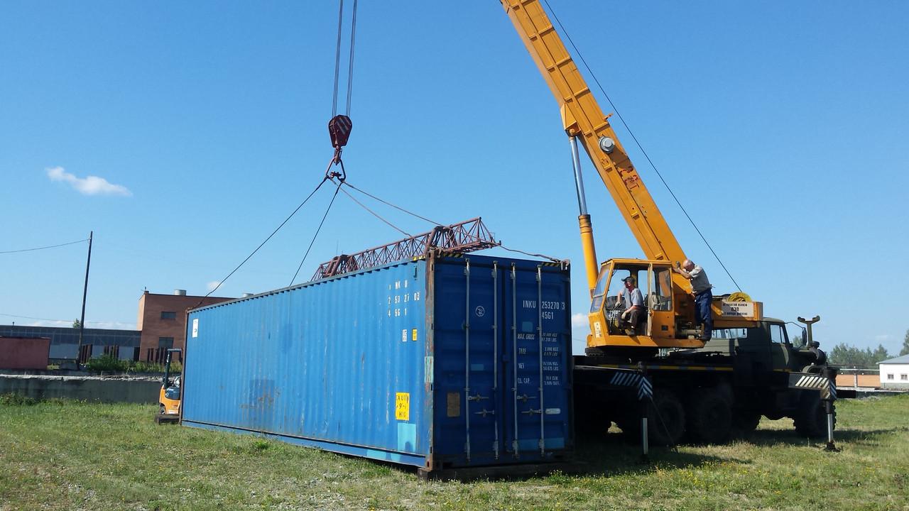 Погрузка и разгрузка контейнеров в Киеве