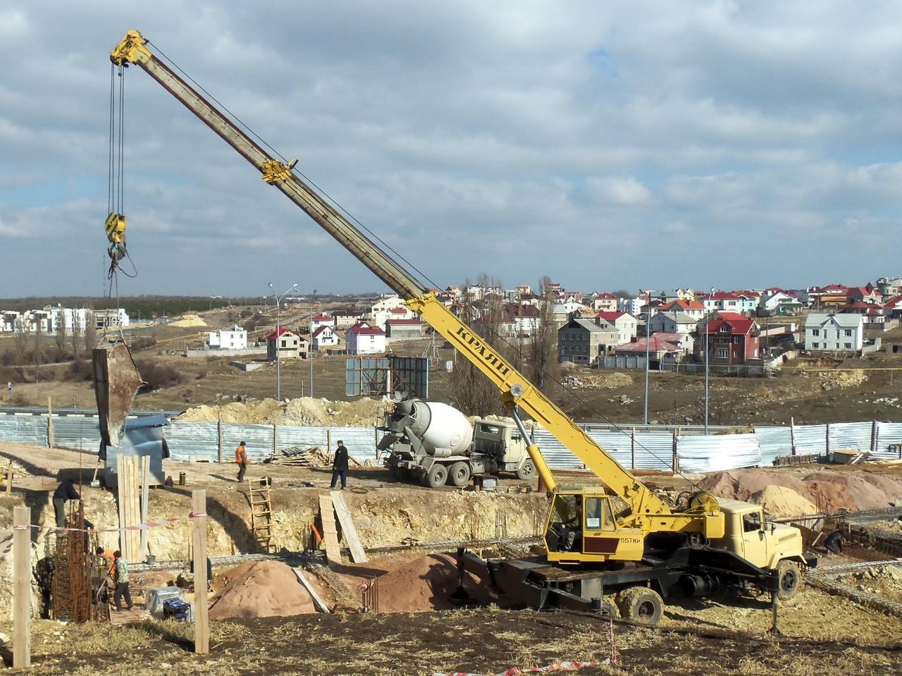 Подача бетона в Киеве