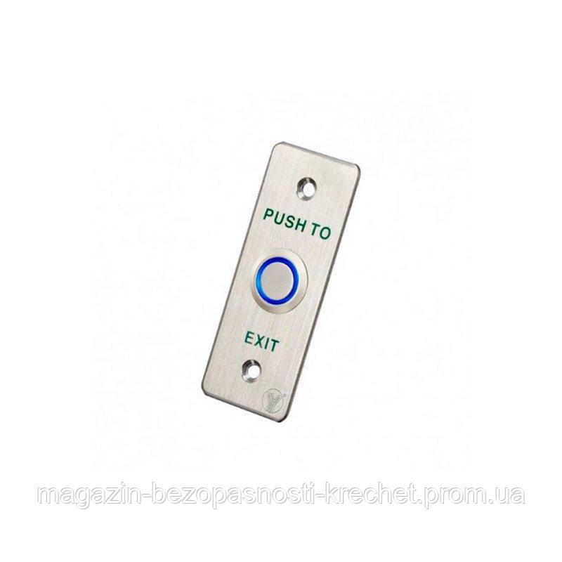 Кнопка выхода СКУД Yli Electronic PBK-814A (LED)