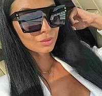 Солнцезащитные очки в роговой трендовой оправе. Модель 2020 г.