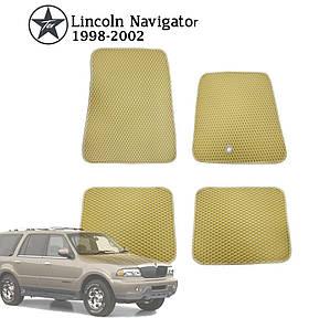 Коврики EVA в салон Lincoln Navigator 1998-2003. Star-Tex. 5 шт.
