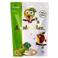 Слайсы яблочные сушеные Apple Slices, 33г, фото 1