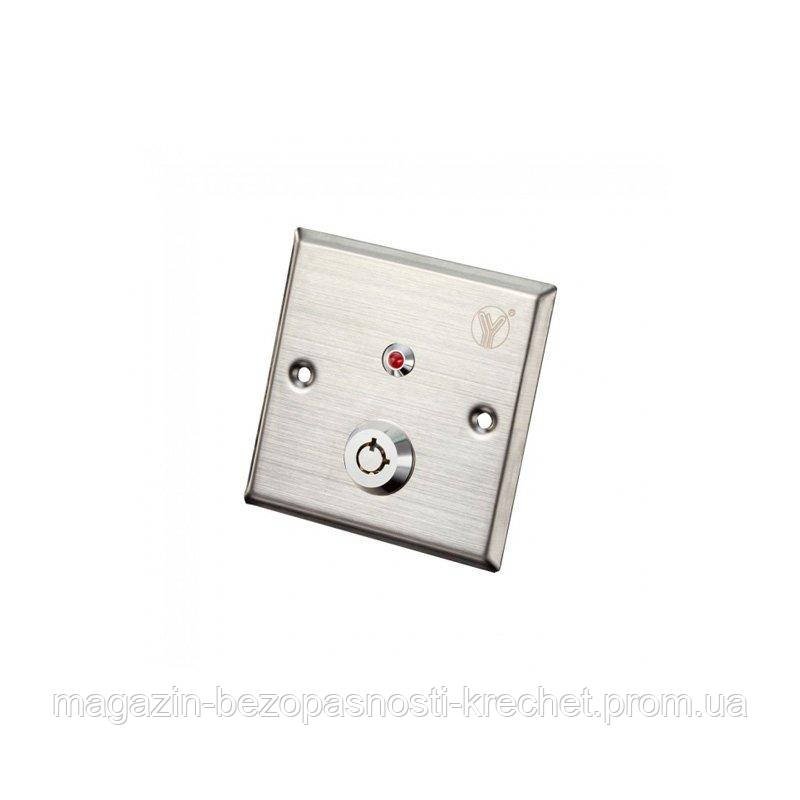 Кнопка выхода СКУД Yli Electronic YKS-850LM