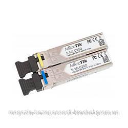 Маршрутизатор  Mikrotik оптических модулей SFP 1.25G S-3553LC20D