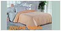 Покрывало вафельное на кровать 220х240 (персиковый) La Rita Pike, Турция