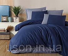 Комплект постельного белья Clasy Pure Series 200*220 v1 синий