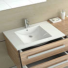 Умывальник раковина для ванной на столешницу врезной REA DAFNE 75 REA-U0040, фото 2