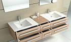 Умывальник раковина для ванной на столешницу врезной REA DAFNE 75 REA-U0040, фото 3