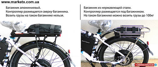Потужний електровелосипед 1500W 48V 20Ah Electric bike Electric, фото 2